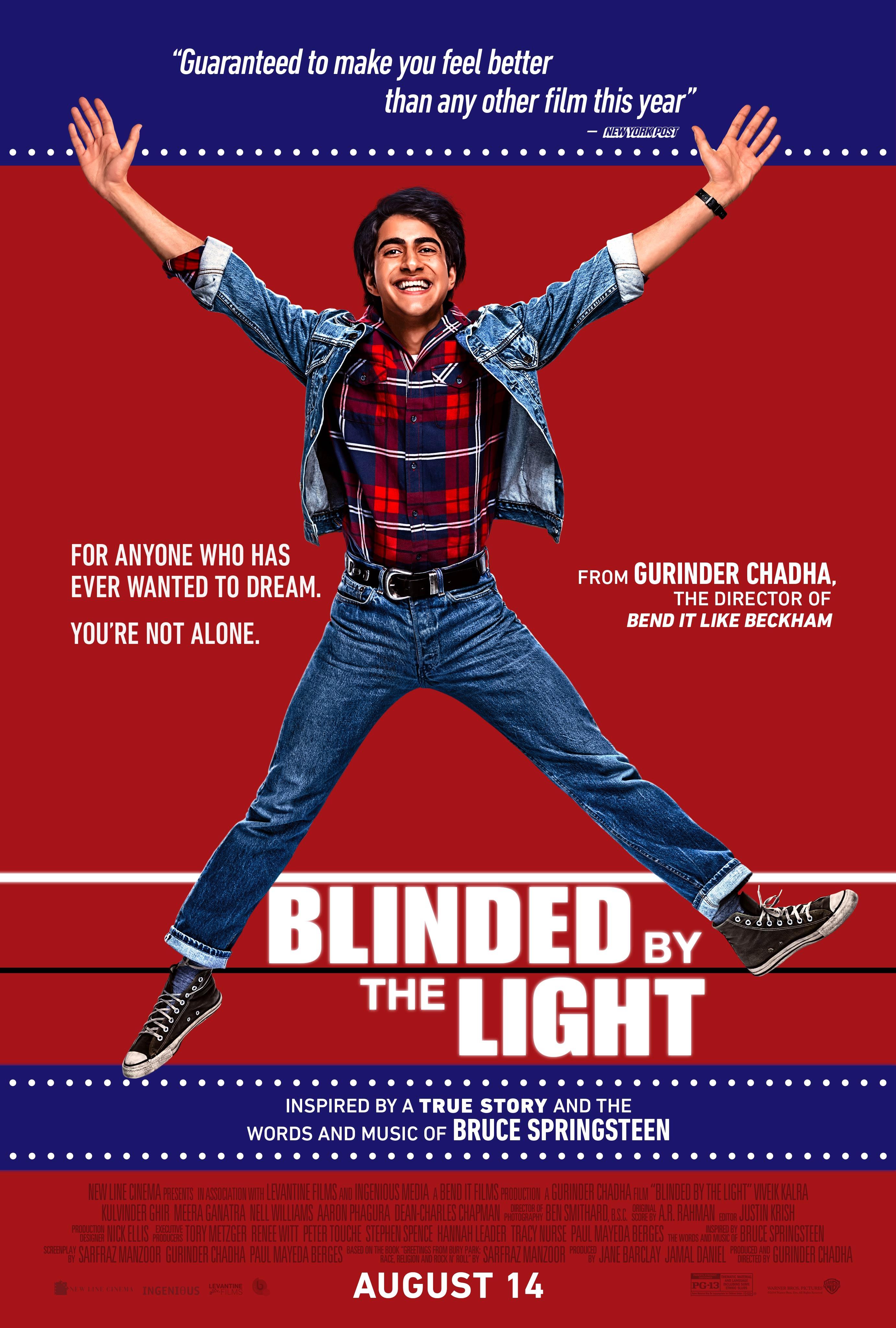 Blinded By The Light, in arrivo nelle sale italiane il film con le musiche di Bruce Springsteen
